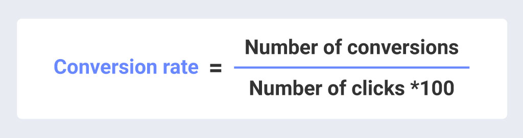 how to calculate your conversion rate formula