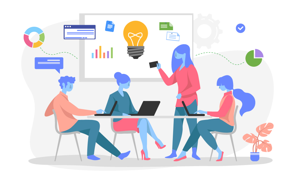 self-service bi tools enable team collaboration and productivity
