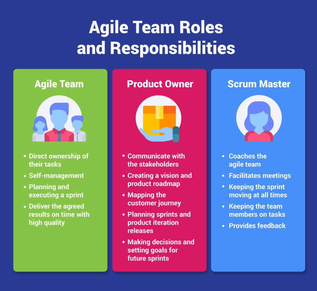 agile team members roles and responsibilities