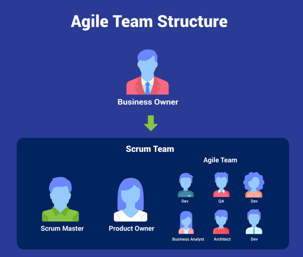 example of agile team structure