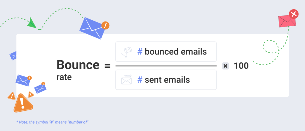 email marketing bounce rate formula