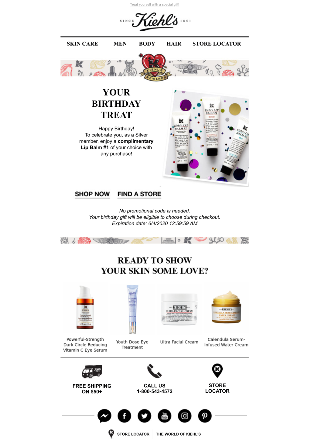 an example of email marketing campaign