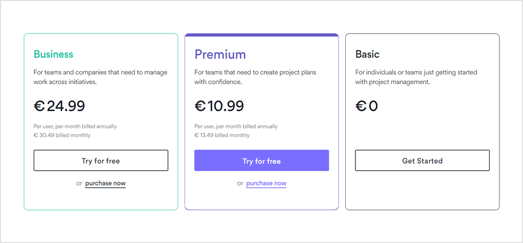 how much does asana cost
