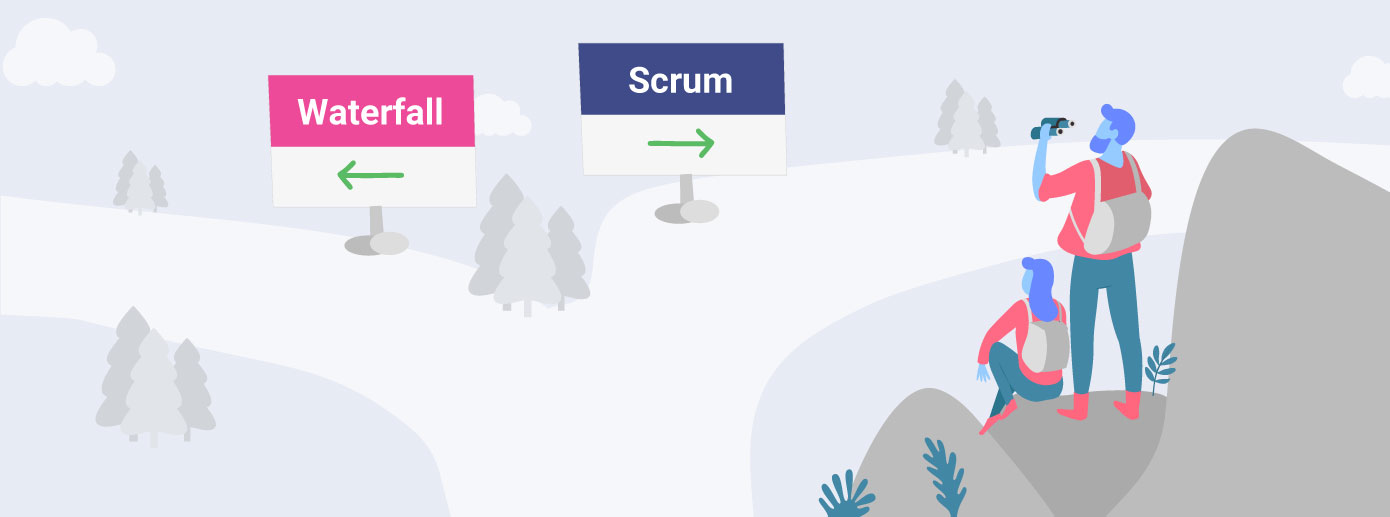 Scrum vs. Waterfall: How to Choose the Right Method for your Project